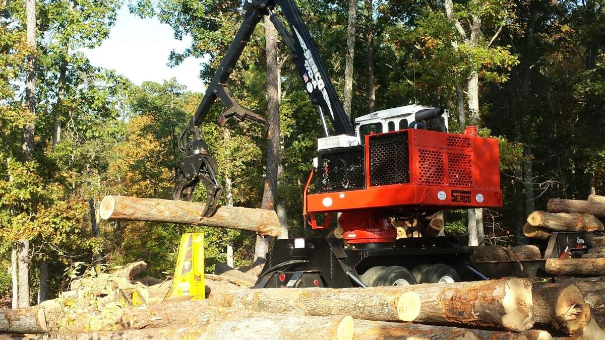 New Logging Equipment