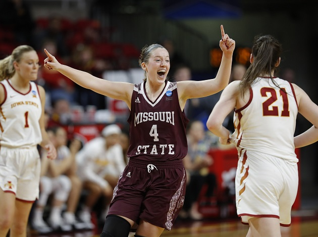 Missouri State Women Crash Sweet 16 As No. 11 SeedOzark