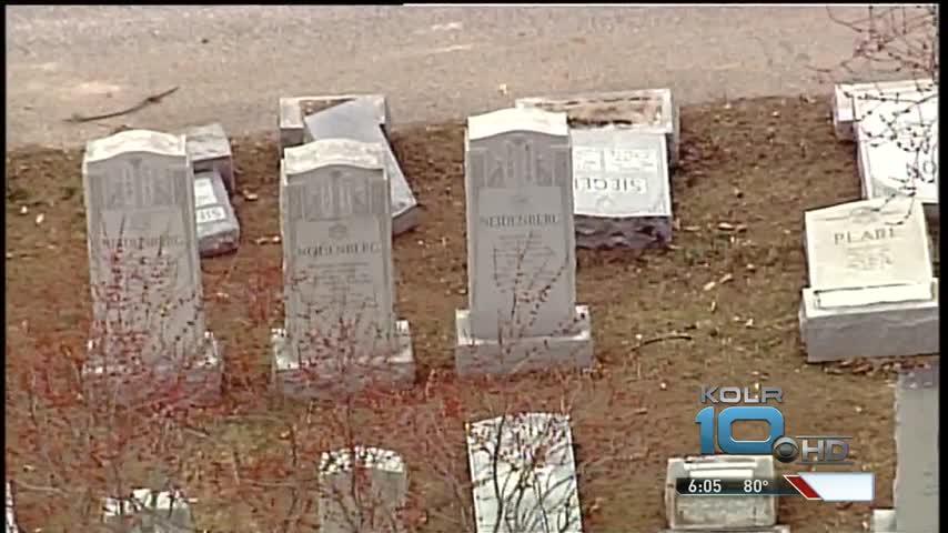 Dozens Gather to Rededicate Jewish Cemetery_87927824