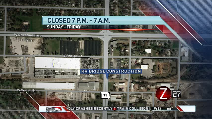 Northbound Kansas Expressway Section Closed Overnight Aug- 1_25542149