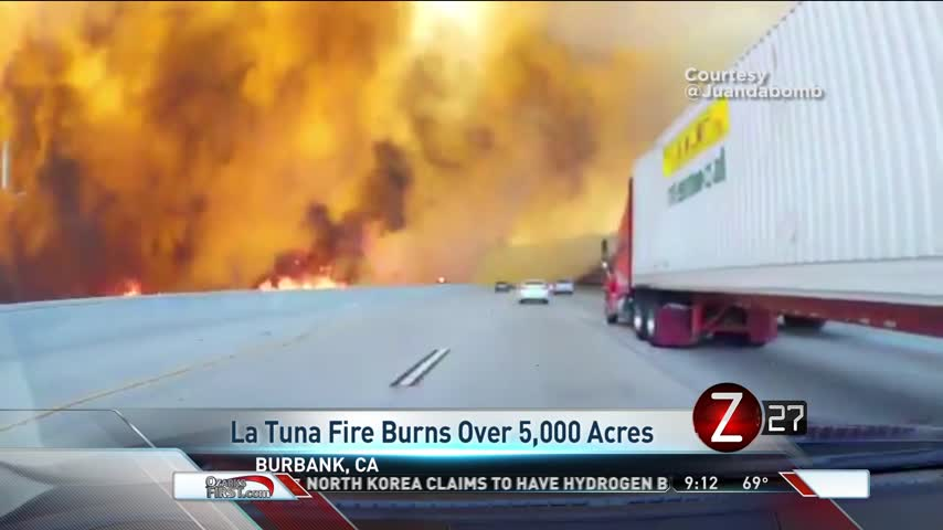 La Tuna Wildfire Burns Over 5-000 Acres_44368277