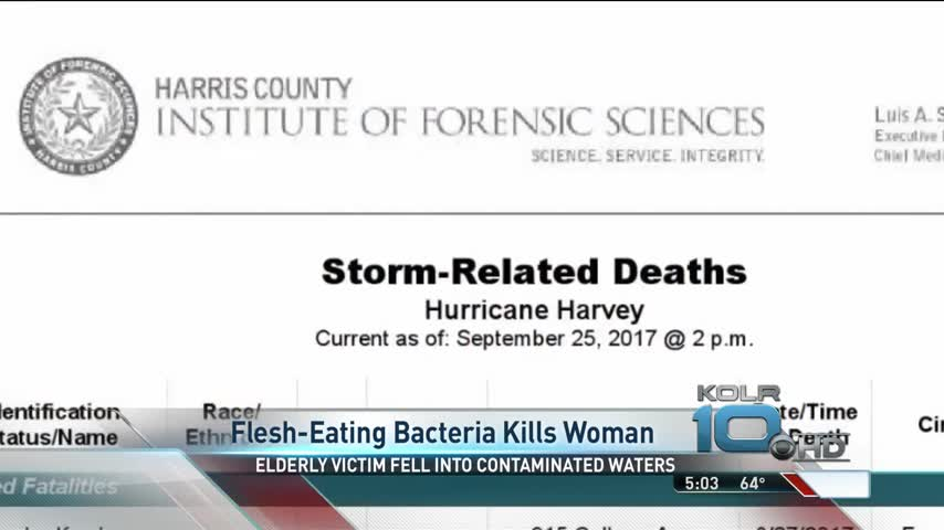 Texas Woman Dies From Infection After Harvey_56061039