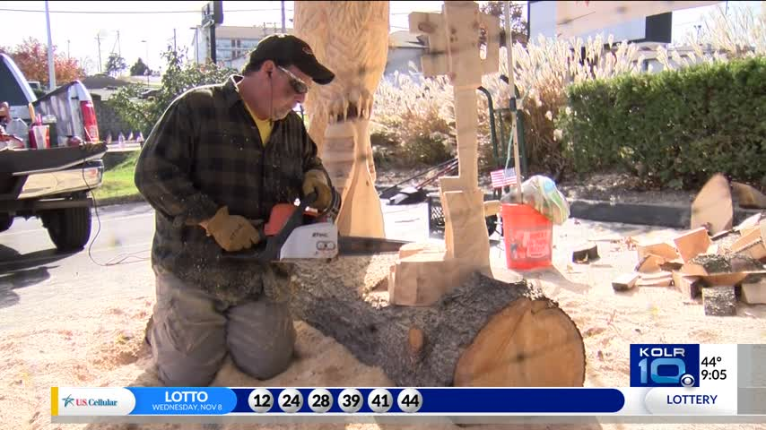 Branson Chainsaw Art for Veterans_24796564
