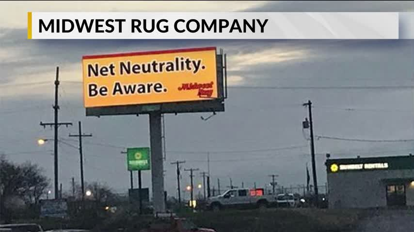 Midwest Rug Company Raises Awareness of Net Neutrality With_67190416