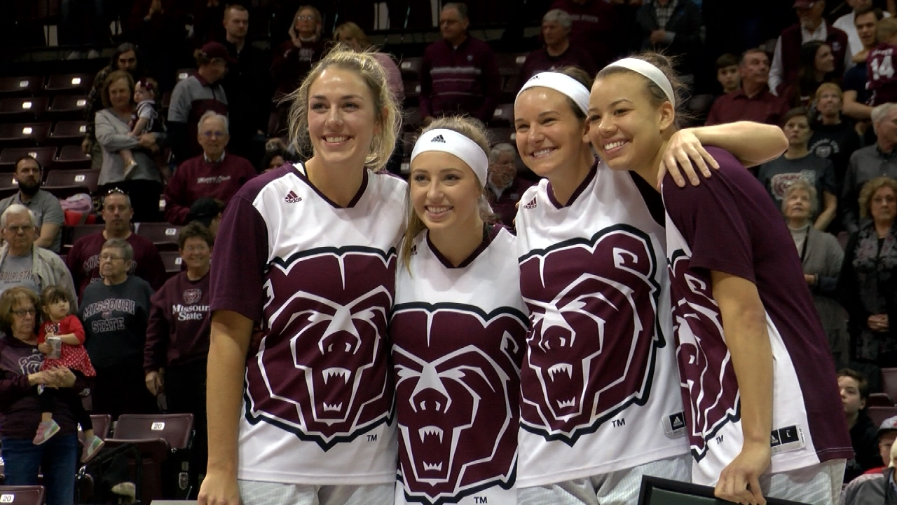 Lady Bears Senior Day