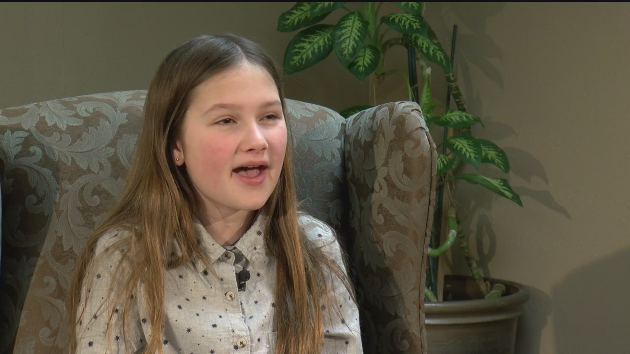5th Grader featured as a local Jefferson Award Winner: Ruby Kate Chritsey