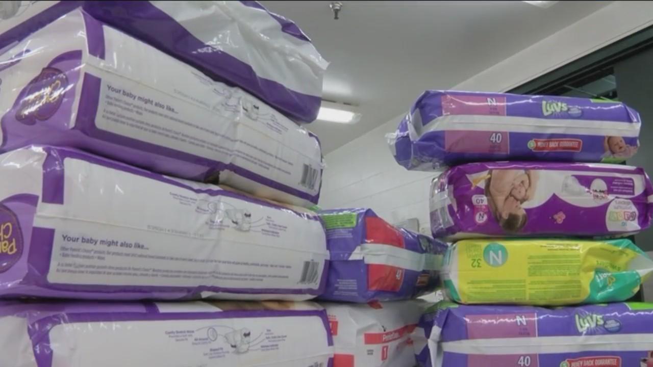 Diaper Drive Combats Possible Health Concerns