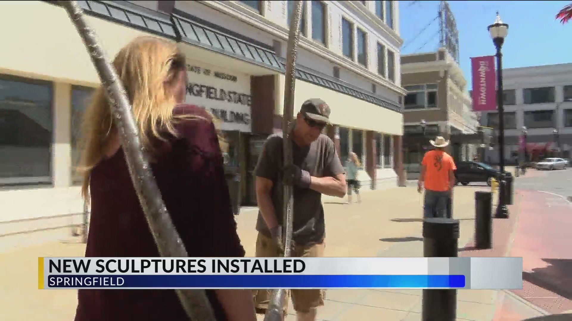 Sculpture Walk Springfield doubles amount of pieces in 4 years