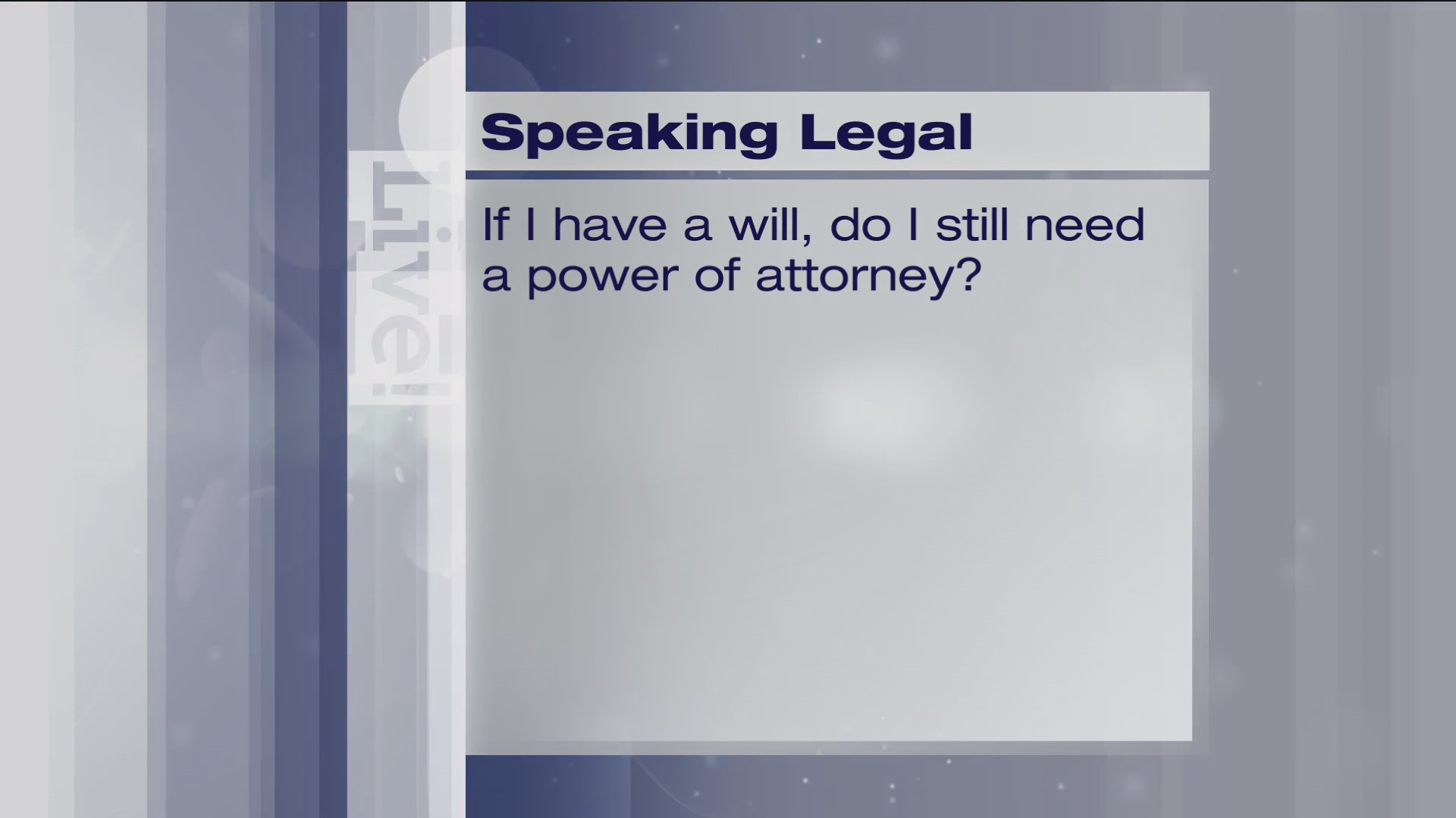 Speaking Legal - 4/23/19