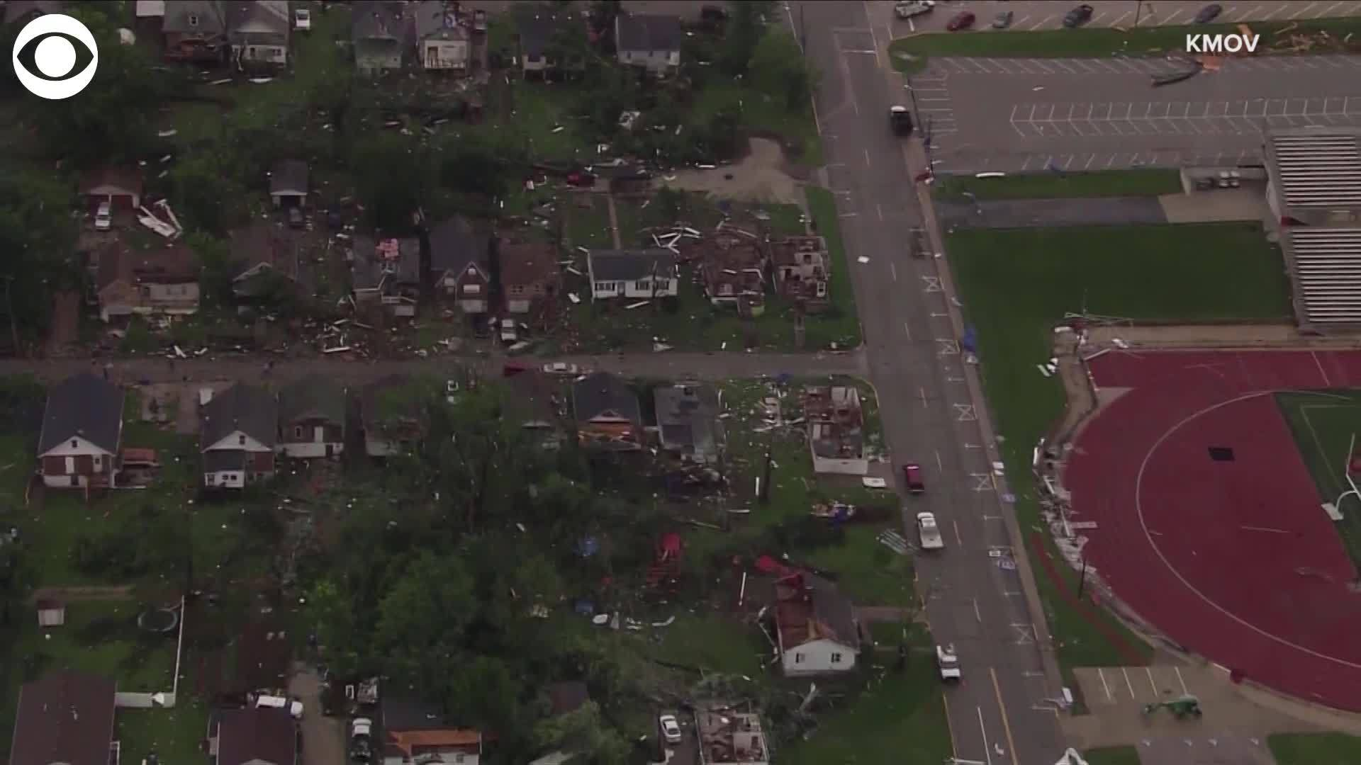 CBS Jefferson City MO Damage