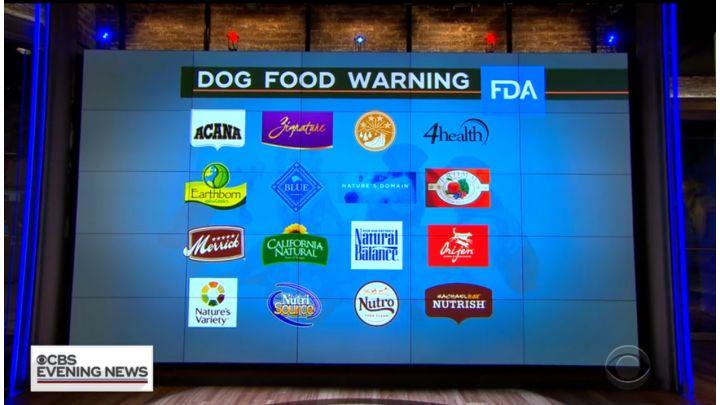 fda dog food warning