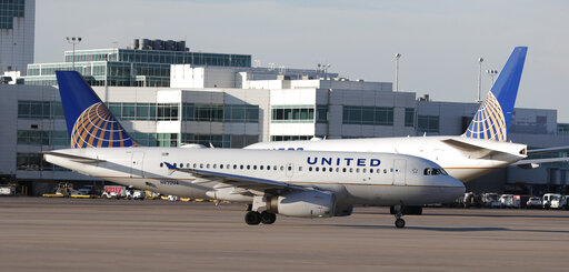 united airlines, r m