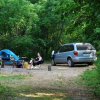 Camping at Blue Spring Campground & Canoeing on Jack's Fork River - May 2010