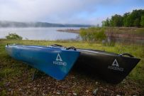 Ascend D10 & Ascend FS10 Kayaks at Berry Bend, Harry S Truman Reservoir
