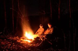 The area around the lake has ample downed wood for a campfire - December 30, 2011
