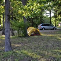 Camping and Kayaking at Berry Bend Campground on Truman Lake