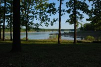 Late evening at Berry Bend Campground looking over Truman Lake in the late spring.