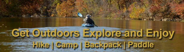 Get outdoors, explore and enjoy the Ozarks in the Fall. Ginger kayaking on James River Fall 2011