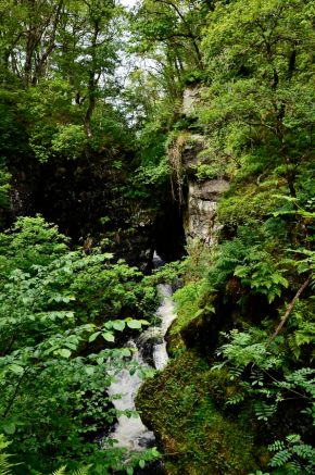 More water falls on our Comrie hike