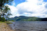 View across Loch Lomond