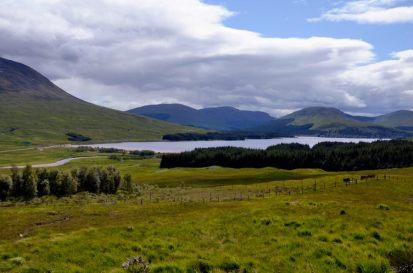 Loch at Achallader
