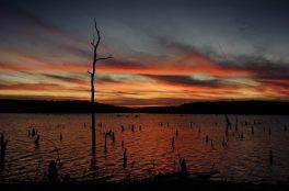 Sunset at Bucksaw, Harry S Truman Lake, Missouri