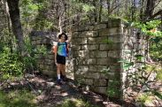Abandoned stone building, Near Rock Spring, Hercules Glades Wilderness