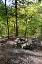 Firering - campsite above Long Creek Falls