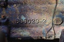 Busiek 1930s Dodge Humpback Panel Truck - Engine Number