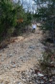 steep conditions on the Busiek Silver Trail