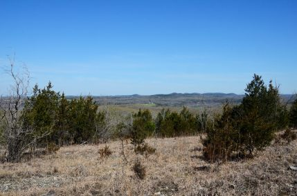 View from the Glades to the West of Lower Pilot Knob - Hercules Glades