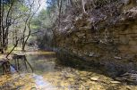 There was water in the Devil's Den Creek