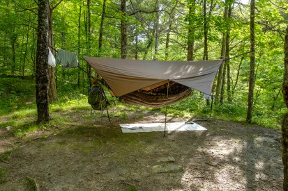 New Tarp and Underquilt