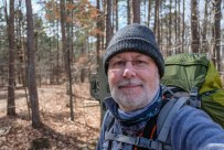 End or Part One - Three nights, two wildernesses. Here I am at the end of my Devil's Backbone Wilderness trip. Copyright © 2019 Gary Allman, all rights reserved.