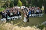 Wedding Ceremony by the Zen Garden