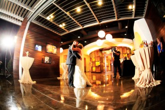 Intimate Wedding Reception in Ultra Lounge