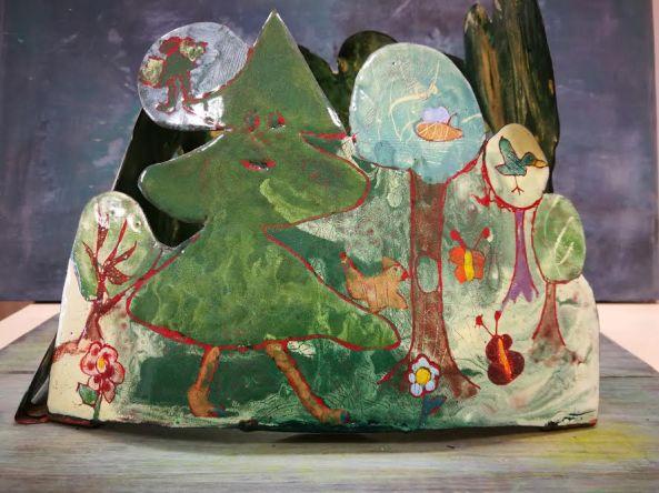 Négyszögletú kerek erdő csoportos munka részlet 1