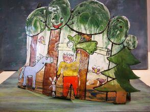 Négyszögletú kerek erdő csoportos munka részlet 2