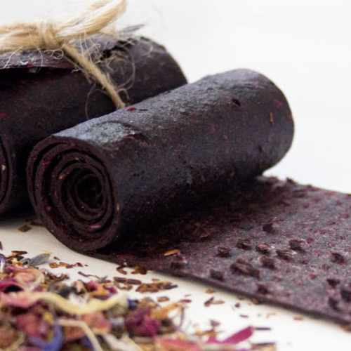 Blueberry Fruit Roll Recipe by Mila's Meals