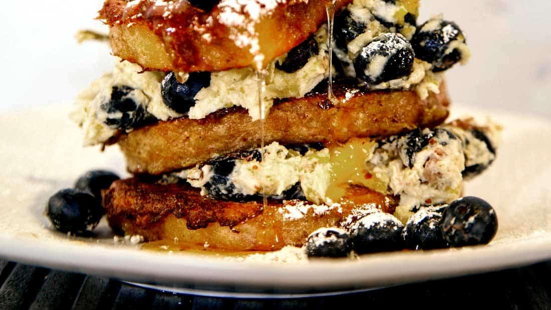 Zola Nene Blueberry French Toast Recipe