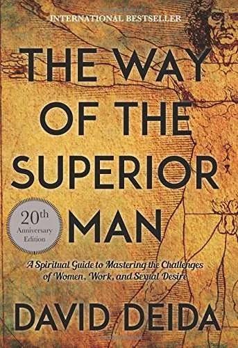 way-superior-man-david-deida-pickup-artist-book-recommendation