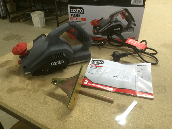 Ozito Electric Planer accessories