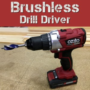 Ozito Brushless Drill Driver Review