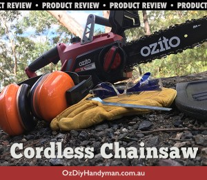 Ozito Cordless Chainsaw Review