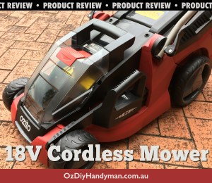 Ozito Cordless Lawn Mower Review