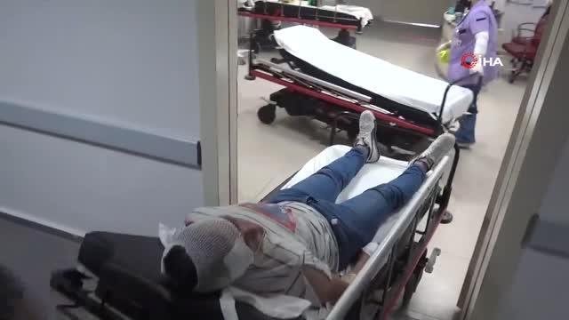 Aksaray'da tartıştığı özel güvenlik görevlisi arkadaşını tüfekle vurdu