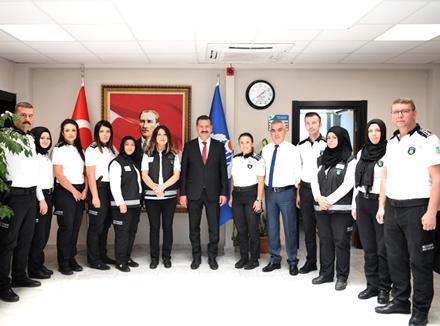 Balıkesir Büyükşehir Belediye Başkanı Yücel Yılmaz Özel Güvenlik Haftası'nı Kutladı