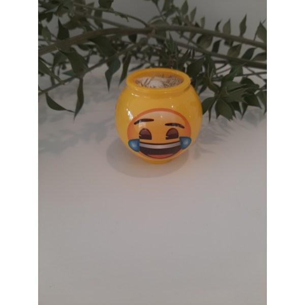 Emoji Karakterli Küçük Boy Çim Adam (3)