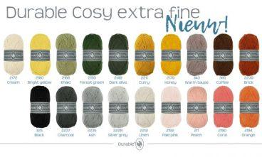 kleurkaart cosy extra fine deel 1
