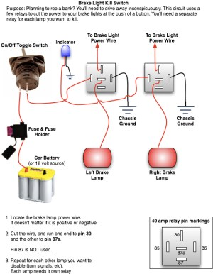 Installing a Rear Brake Light Kill Switch | Top Forum